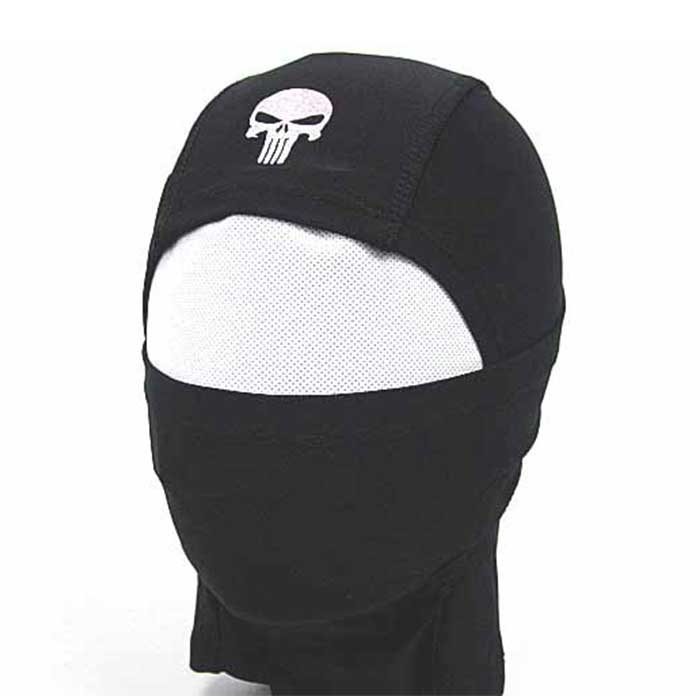 Full Face Head Mask Airsoft Hood Airsoft Combat Protector Mask BLACK