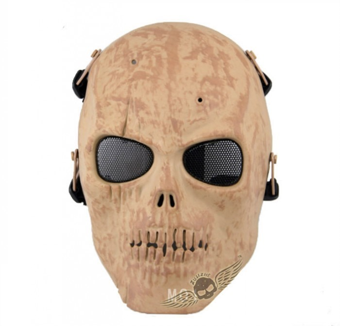 Skull Army Tactical Skull Full Face Mask Costume Airsoft Skeleton DS