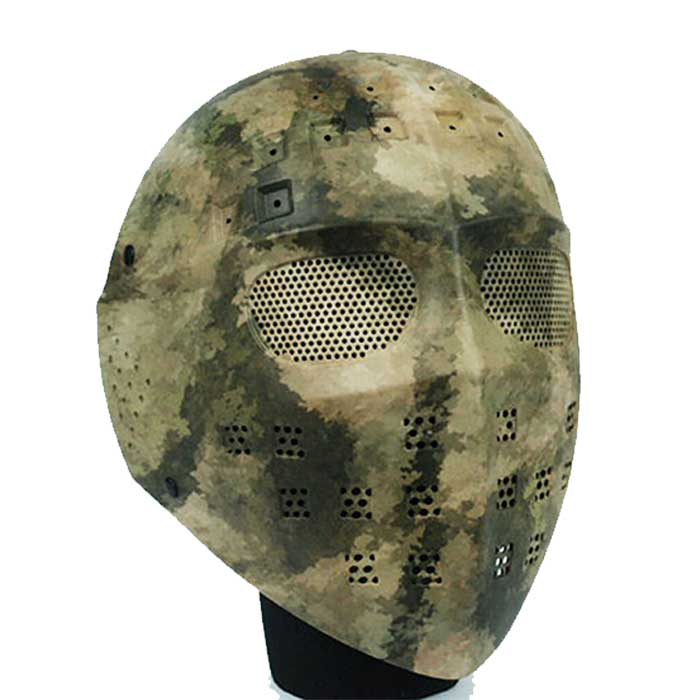 Full Face Airsoft Combat Mesh Goggle Tactical Mask Hockey Type ATACS
