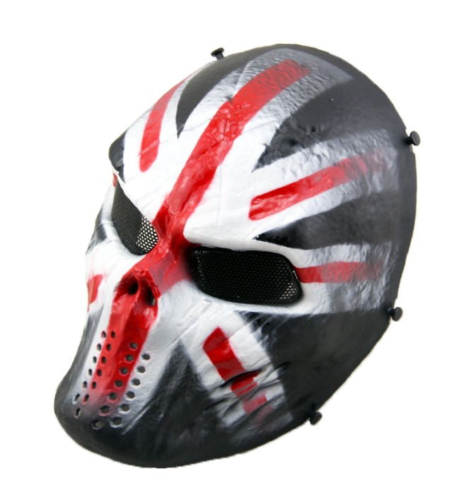 Typhon Camouflage Tactical Skull Full Face Protect Mask Knight