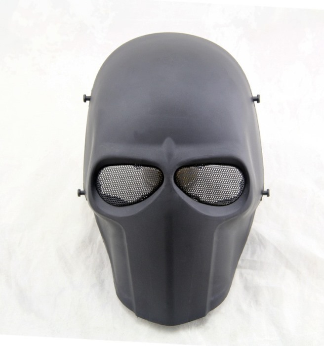 DC Tactical Gear Army of Two Full Face Smiley Mask Cacique Mask BK