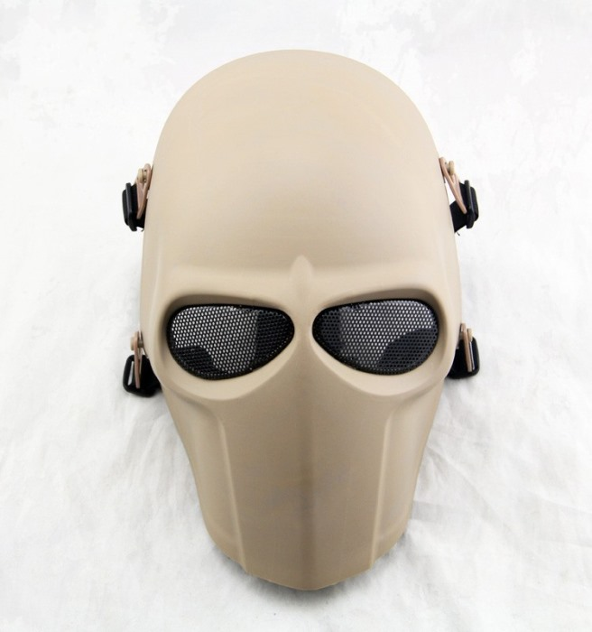 DC Tactical Gear Army of Two Full Face Smiley Mask Cacique Mask DE