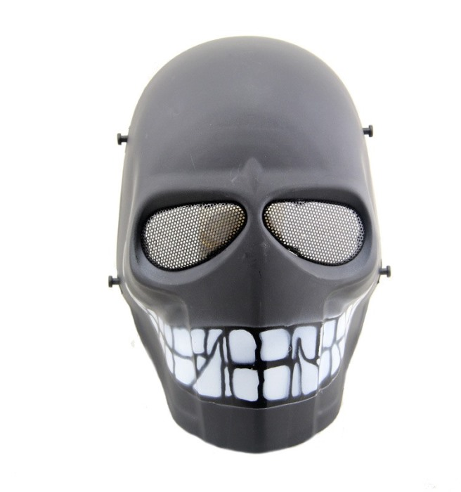 DC Tactical Gear Protection Mask Cacique Full Face Smiley Mask DH