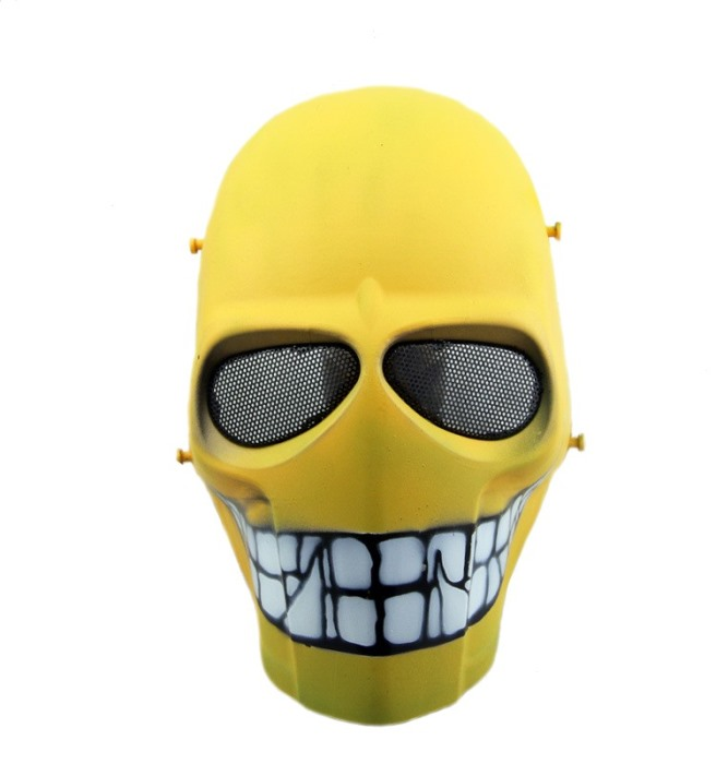 DC Tactical Gear Protection Mask Cacique Full Face Smiley Mask DY