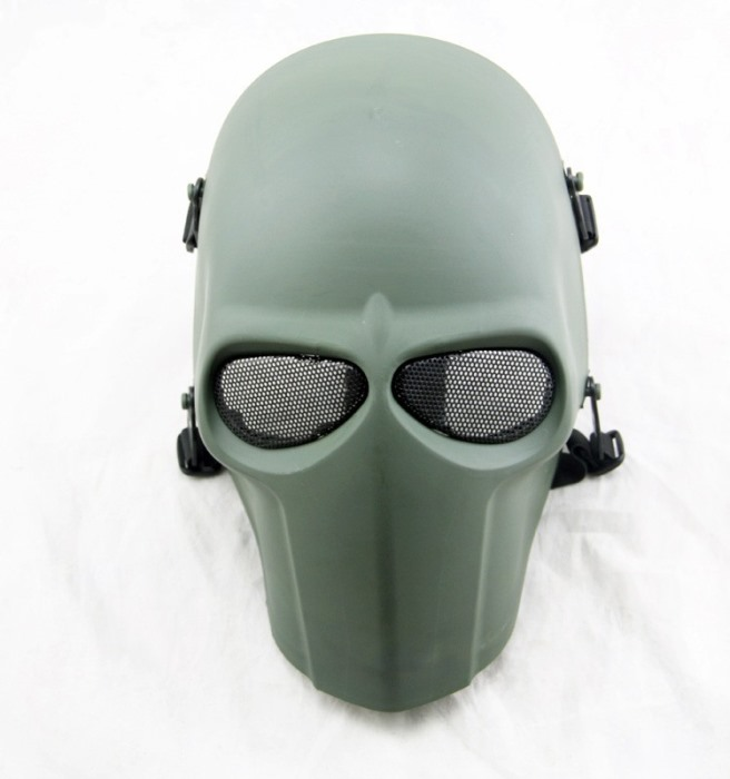 DC Tactical Gear Army of Two Full Face Smiley Mask Cacique Mask FG
