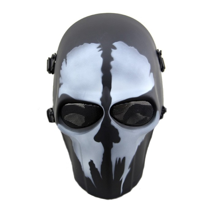 DC Tactical Gear Full Face Protection Cacique Mask Smiley Mask HU