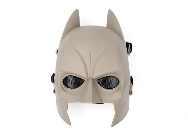 Tactical Mask Dark Knight Rises Batman Full Face Mask Cosplay TAN