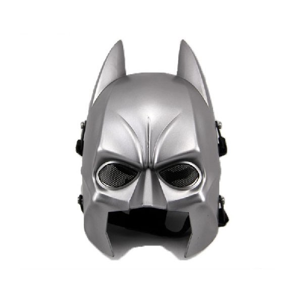 Tactical Mask Dark Knight Rises Batman Full Face Mask Cosplay SLIVER