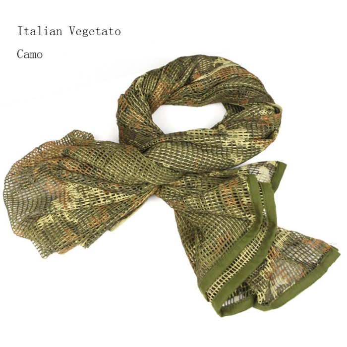 Multi Tactical Scarf Airsoft Camouflage Sniper Cover Scarves IT