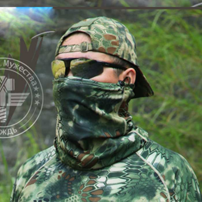 Chief Multifunctional Quick Dry Airsoft Mask Pirate Bandana Scarf CL