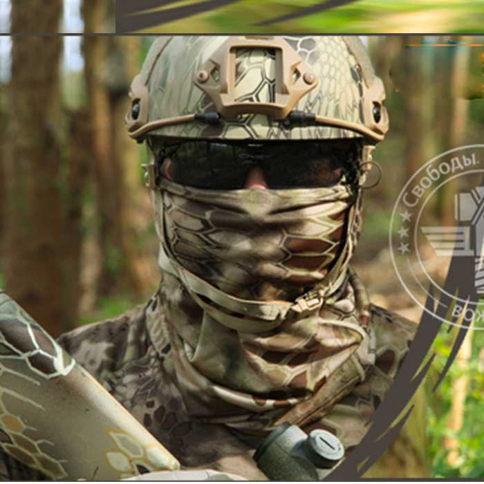 Chief Multifunctional Quick Dry Airsoft Mask Pirate Bandana Scarf WL