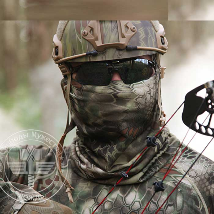 Chief Quick Dry Airsoft Mask Mix Neckerchief Bandana Scarf Masks MT
