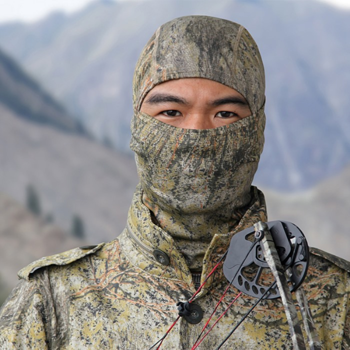 Chiefs Polar Bionic Camo Mask Breathable Hood Face Ninja Mask CD