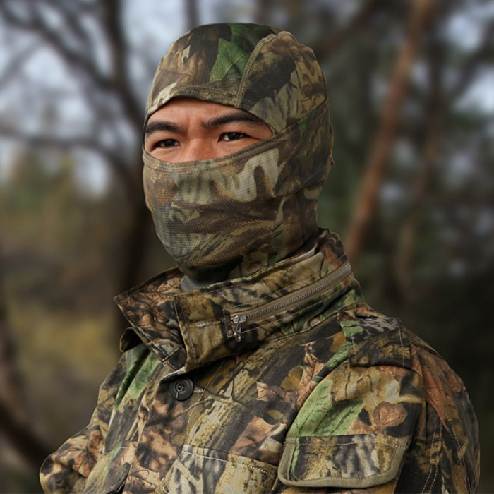 Chiefs Polar Bionic Camo Breathable Mask Ninja Protect Masks Hood SD
