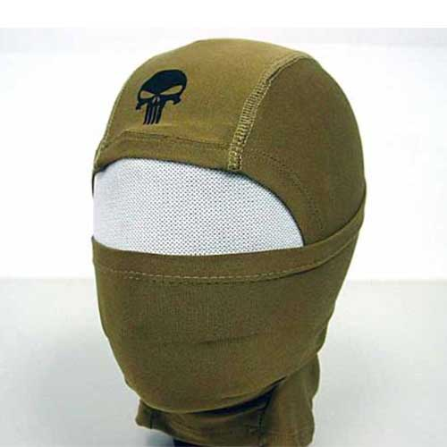 Full Face Head Mask Airsoft Hood Protector Coyote Brown