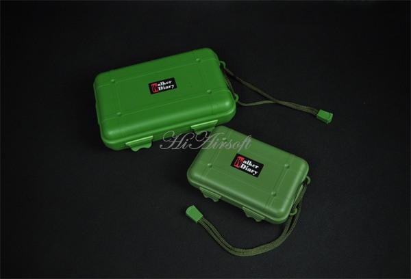 Outdoor waterproof box packing Storage EDC pressure seal box