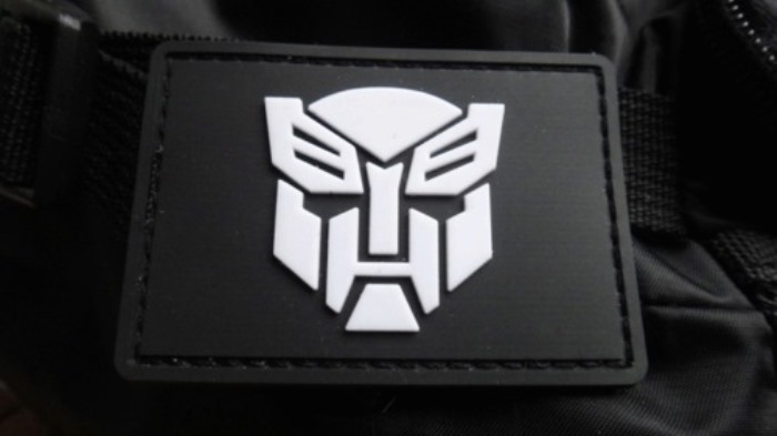 Righteous Robot Fighter Autobots 3D Tactical Pvc Velcro Patch