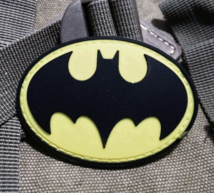 Batman Super Heroes Morale Badge Tactical Pvc Rubber Velcro Patch