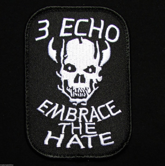 3 Echo Embrace Navy Seal Team Platoon Morale Swat Velcro Patch