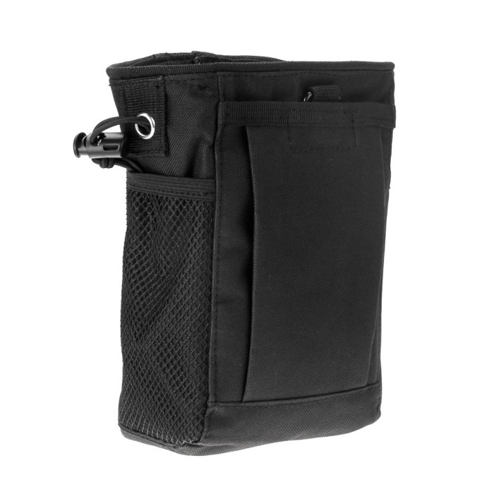 Airsoft Molle Tactical Magazine Dump Belt Pouch Bag Tool Utility BK