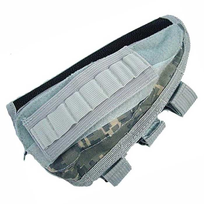 Rifle Shotgun Tactical Molle Ammo Pouch Stock Kit Parts Pendant Bag