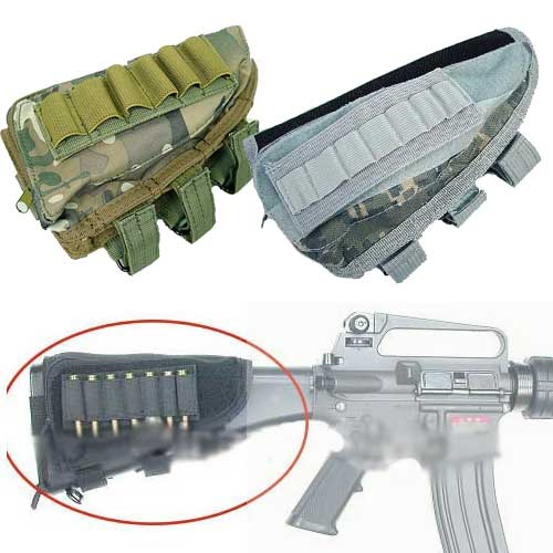 Shotgun Rifle Tactical Kit Parts Pendant Bag Molle Ammo Pouch