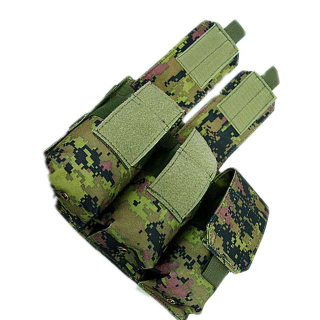 Molle Tactical Triple M4 5.56mm Mag Magazine Pouch Paintball Airsoft