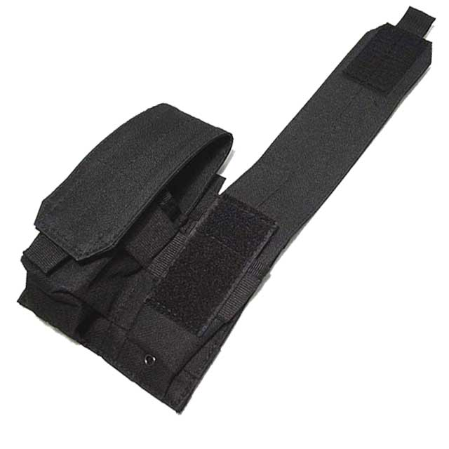 Double Pistol Mag Pouch AVS Military Bag for M4 Mag Magazine Black