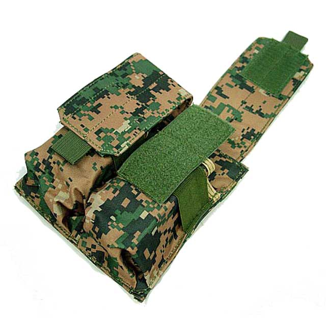 Double Pistol Mag Pouch Cordura M4 Double Mag Pouches Digital