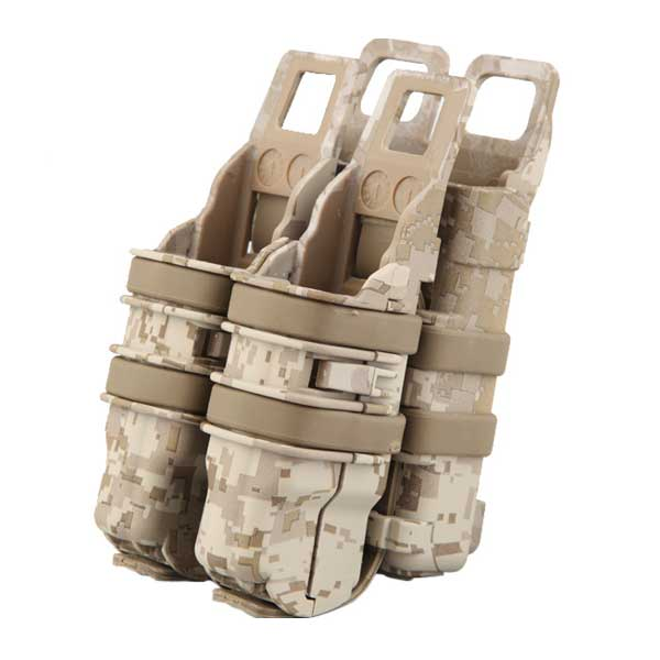 Fast Rifle Pistol Emerson Magazine Attach Molle Pouch Holder Desert