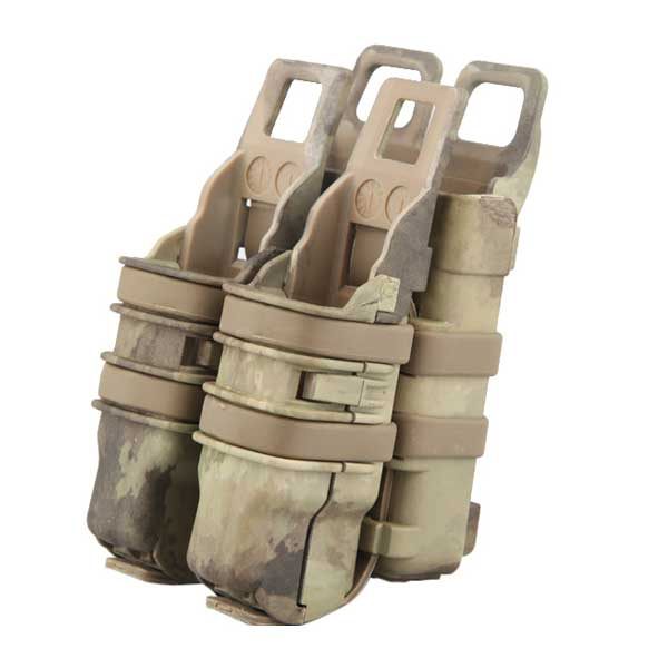 Fast Rifle Pistol Pouch Emerson Molle Strike System Attach A-TACS