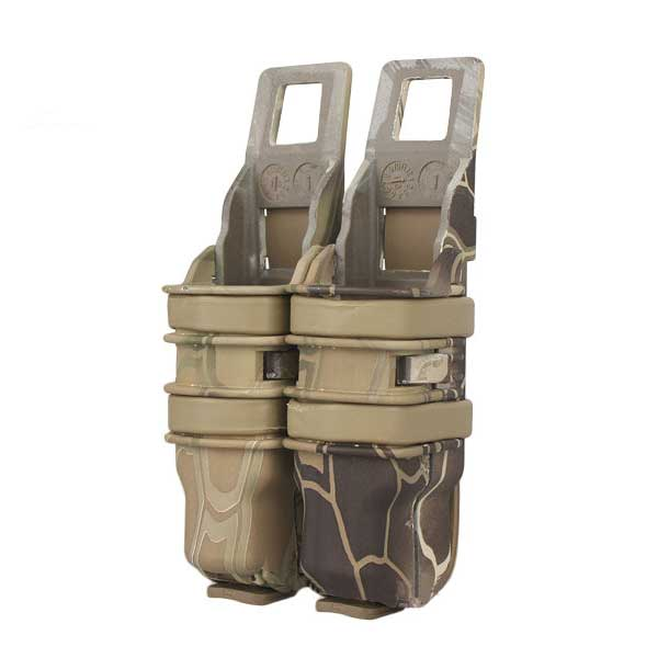 Heavy Duty Airsoft Fast Pistol Mag Magazine Attach Molle Pouch N2
