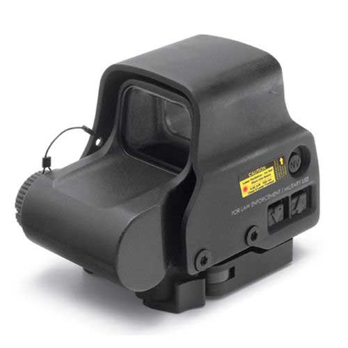 New 558 EXPS3 Tactical Holographic Sight 1 & 2 Red Dot Reticle BK