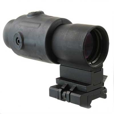 G23 3x Magnifier Rifle Scope Black Side Mount
