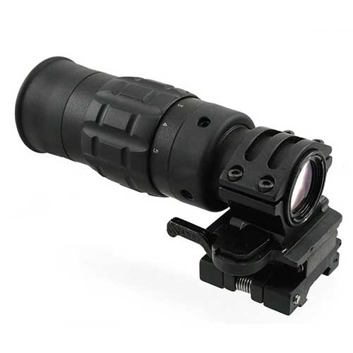 1.5-5x Magnifier Scope With QD Mount 30mm Top ring