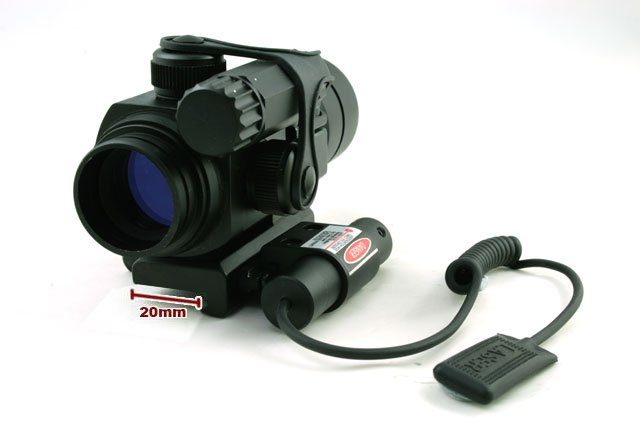30mm Red and Green Scope