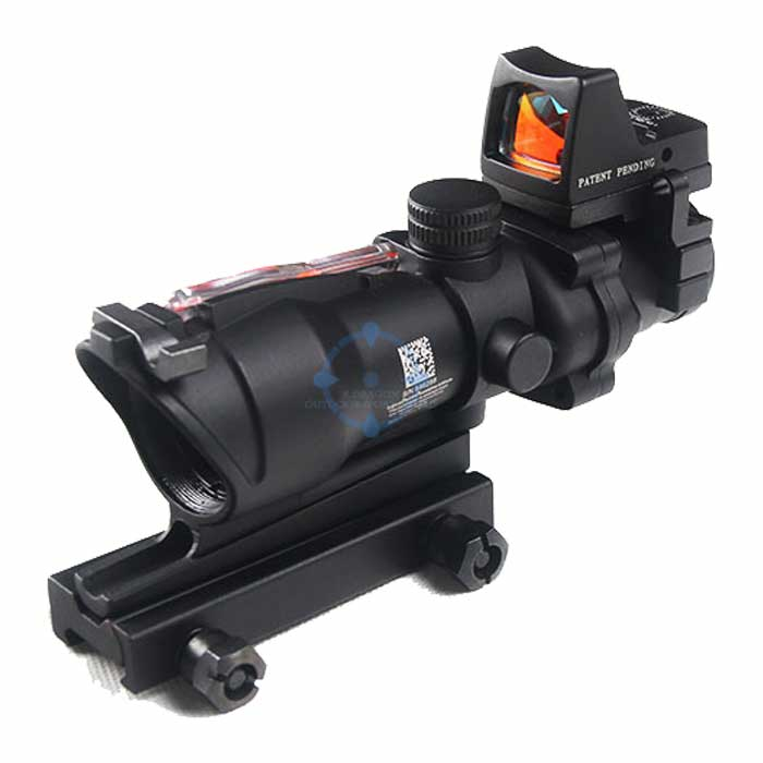 Trijicon ACOG ECOS 4X32 Real Fiber Red Dot Sight RMR Micro Scope