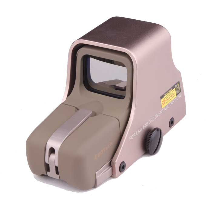551 Tactical Red Green Dot Sight Laser Sights Rifle QD Ring Gold
