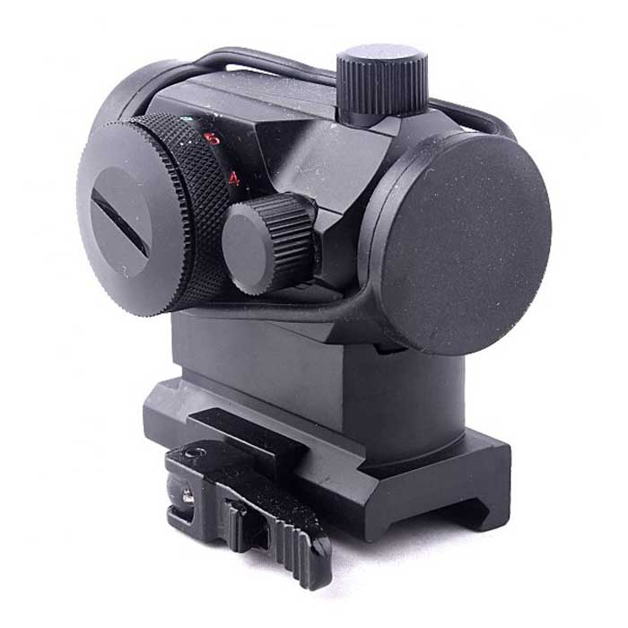 Airsoft Solid T1 Red Dot Telescopic Sight Quick Release Mount T-1