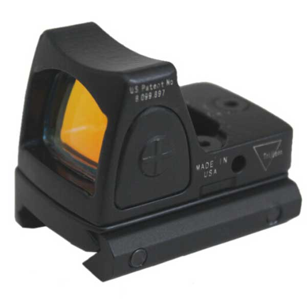 Tactical Trijicon RMR Reflex Red Dot Sight Adjustable LED MOA Dot V2