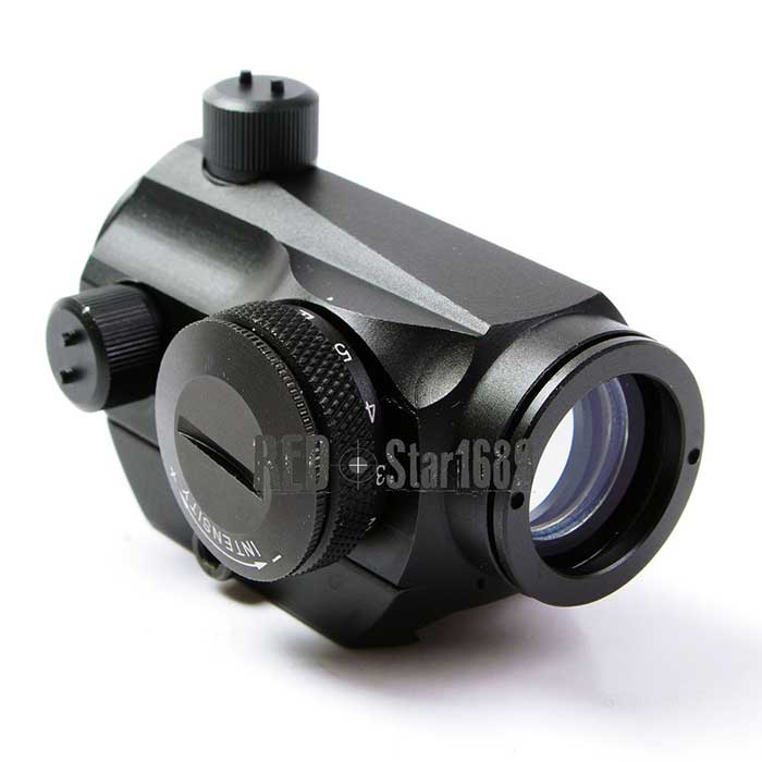 Tactical T1 T-1 1x24 Red Dot Sight 20mm Rail for Rifle Scope Black
