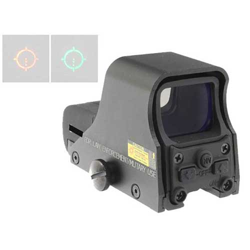 551 Fully Function Green Red Dot Sight With QD Mount BK