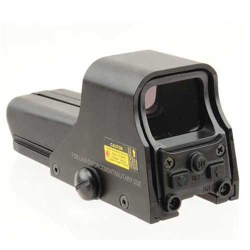 552 Fully Adjustable Scope Green Red Dot lightweight