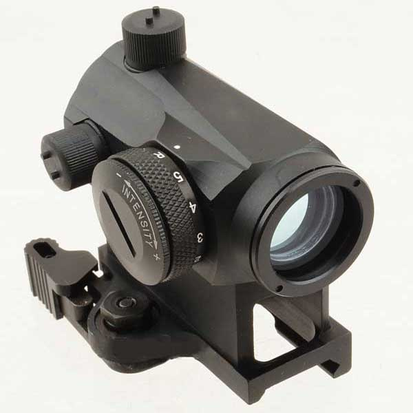 TMS QD T-1 Green & Red Dot Rifle Sight With Larue Mount 20mm Rail