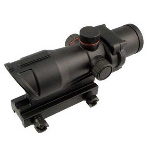 Airsoft Tactical Acog 4x32mm Mil-Dot Scope with mounts