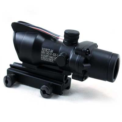 Airsoft Red Dot Acog Ta31 Rco-a4 4X32 scope With 11mm dovetail