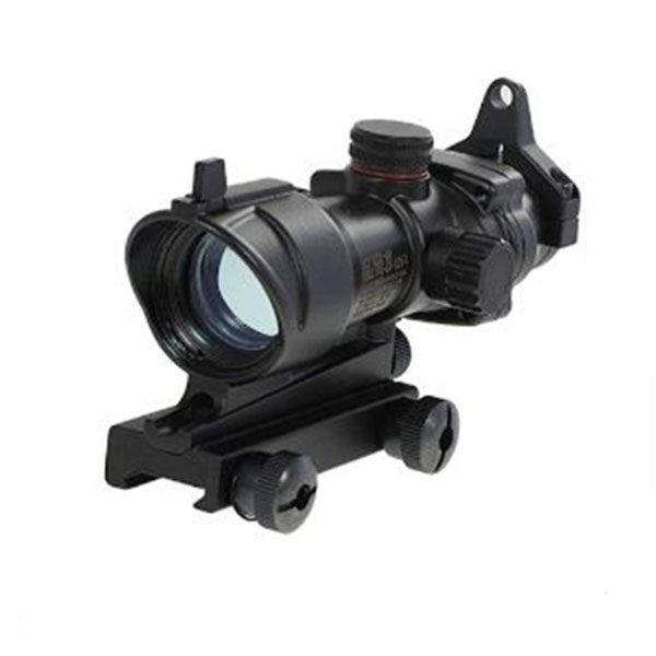 1X32 M4 M16 Series Tactical Trijicon Acog Green/Red Dot Sight Black