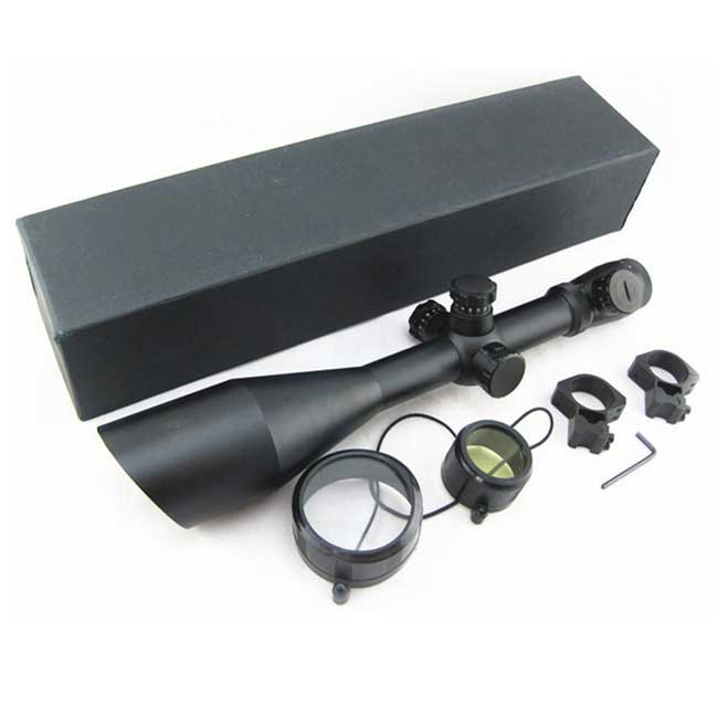Leupold 6-24x60 scope AO illuminated Mildot side wheel hunting