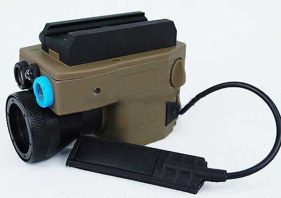 LLM01 LED Flashlight Advance Multi-Function Aiming Device Tan