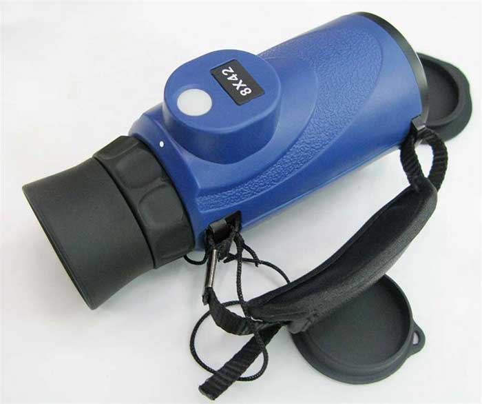 Waterproof Compass Monocular 8x42 Telescope Hunting scope